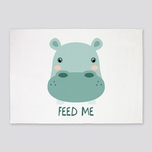 FEED ME 5'x7'Area Rug