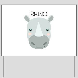 RHINO Yard Sign