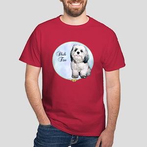 Shih Tzu Portrait Dark T-Shirt