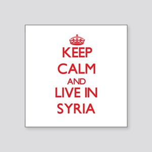Keep Calm and live in Syria Sticker