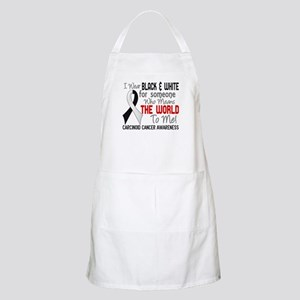 Carcinoid Cancer Means World 2 Apron