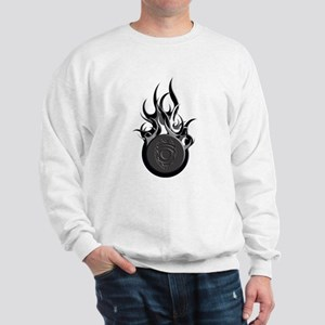 Ball of Flames Badge Sweatshirt