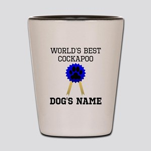 Worlds Best Cockapoo (Custom) Shot Glass