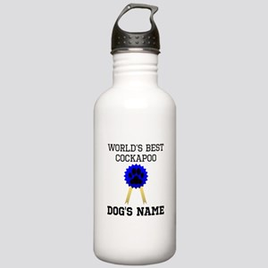 Worlds Best Cockapoo (Custom) Water Bottle