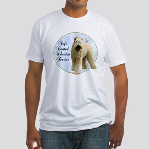 Wheaten Portrait Fitted T-Shirt