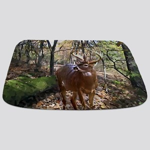 Woodland Buck Deer Bathmat