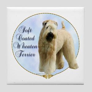 Wheaten Portrait Tile Coaster