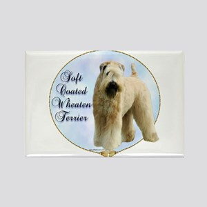 Wheaten Portrait Rectangle Magnet