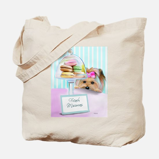 Macarons Signed Tote Bag