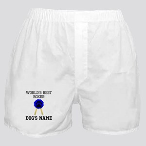 Worlds Best Boxer (Custom) Boxer Shorts
