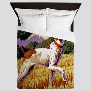 Hunting Dog Queen Duvet