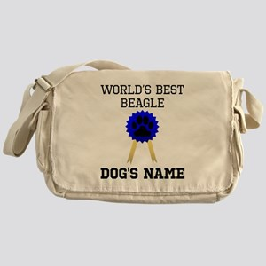 Worlds Best Beagle (Custom) Messenger Bag