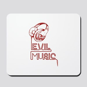 Evil Music Mousepad