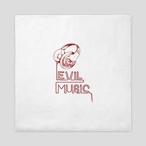 Evil Music Queen Duvet