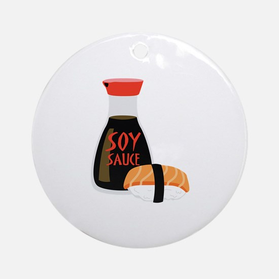 SOY SAUCE Ornament (Round)