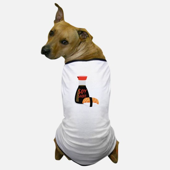 SOY SAUCE Dog T-Shirt