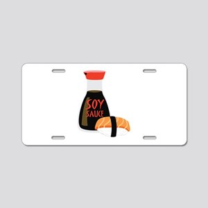 SOY SAUCE Aluminum License Plate