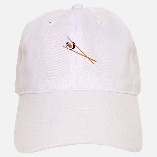 Sushi And Chopsticks Baseball Baseball Baseball Cap