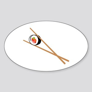 Sushi And Chopsticks Sticker