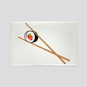 Sushi And Chopsticks Magnets