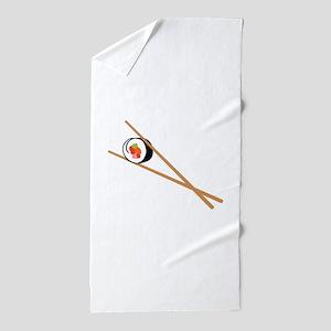 Sushi And Chopsticks Beach Towel