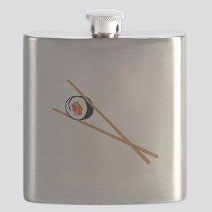 Sushi And Chopsticks Flask