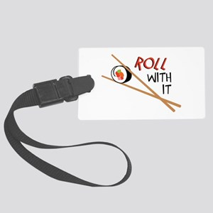 ROLL WITH IT Luggage Tag