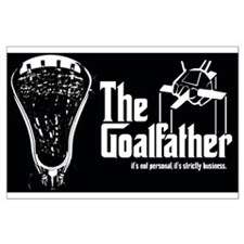 Lacrosse Goalfather Posters