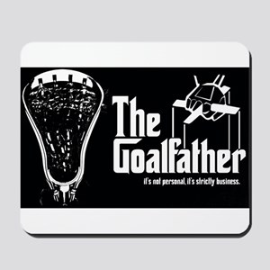 Lacrosse Goalfather Mousepad