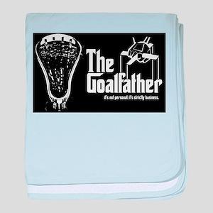 Lacrosse Goalfather baby blanket