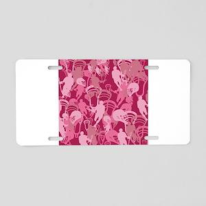 Lacrosse Camo Pink 20XX Aluminum License Plate