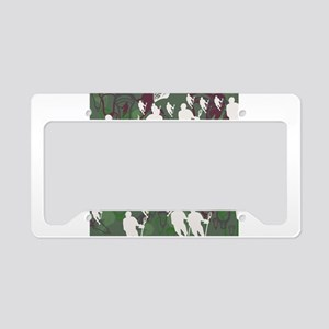 Lacrosse Camo Green 20XX License Plate Holder