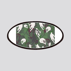 Lacrosse Camo Green 20XX Patches