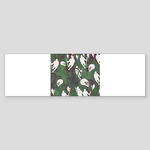 Lacrosse Camo Green 20XX Bumper Sticker