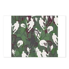 Lacrosse Camo Green 20XX Postcards (Package of 8)