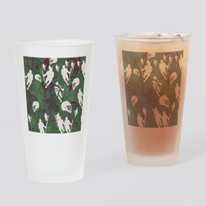 Lacrosse Camo Green 20XX Drinking Glass