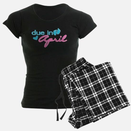 Due in April pajamas