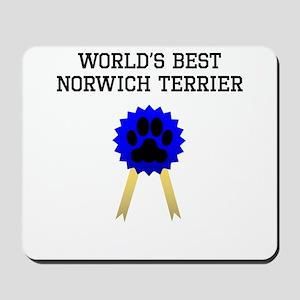 Worlds Best Norwich Terrier Mousepad