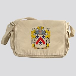 Brodie Coat of Arms - Family Crest Messenger Bag
