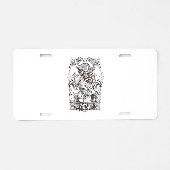 Viking Aluminum License Plate