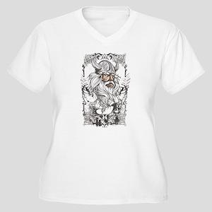 Viking Women's Plus Size V-Neck T-Shirt
