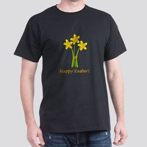 Cute Yellow Daffodils Dark T-Shirt