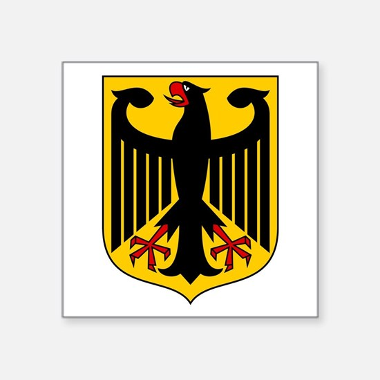 German Coat Of Arms Sticker