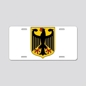 German Coat of Arms Aluminum License Plate