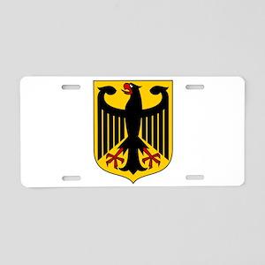 German Coat of Arms Aluminum License Plate