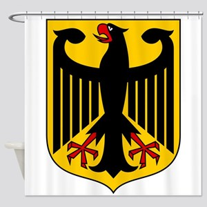 German Coat Of Arms Shower Curtain