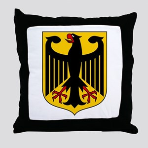 German Coat of Arms Throw Pillow