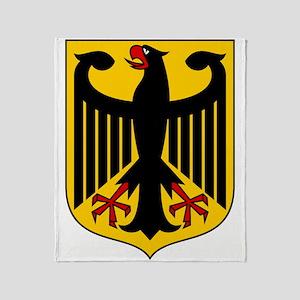 German Coat of Arms Throw Blanket