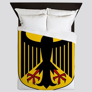 German Coat Of Arms Queen Duvet