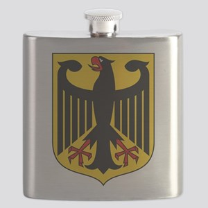 German Coat of Arms Flask